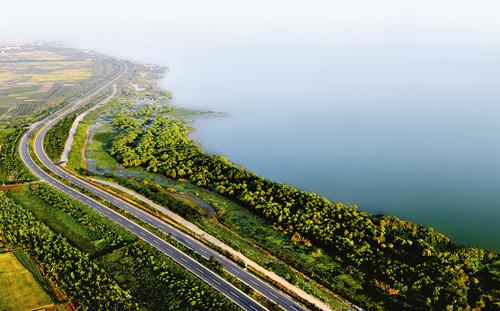 巢湖滨湖旅游观光大道